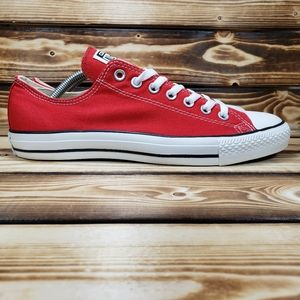 Converse Chuck Taylors All Stars Red Canvas Shoes